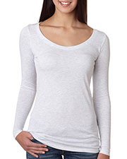Next Level 6731 Women Tri-Blend Long-Sleeve Scoop at GotApparel