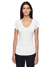 Anvil 6750VL Women Triblend V-Neck TShirt at GotApparel