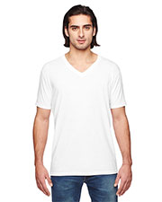 Anvil 6752 Unisex Triblend V-Neck T-Shirt at GotApparel
