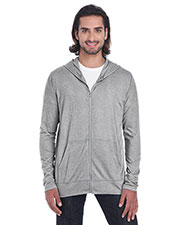 Anvil 6759 Men Tri-Blend Full-Zip Jacket at GotApparel