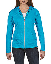 Anvil 6759L  Tri-Blend Ladies' Full Zip Jacket at GotApparel