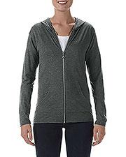 Anvil 6759L Women Tri-Blend Full-Zip Jacket at GotApparel