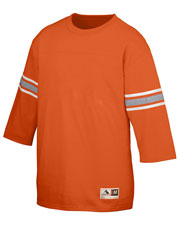Augusta 676 Men Old School Football Jersey T-Shirt at GotApparel