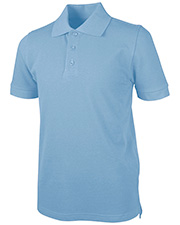 Real School Uniforms 68112 Girls S/S Pique Polo   at GotApparel