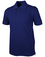 Real School Uniforms 68112  Youth S/S Pique Polo at GotApparel
