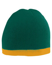 Augusta 6820 Women Two-Tone Knit Beanie Onesize at GotApparel