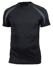 Soffe 6824M Men Adult Clrblock Performance Tee at GotApparel