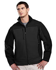 TRI-MOUNTAIN PERFORMANCE 6825 Men Rockford Poly Stretch Bonded Soft Shell Jacket With Sherpa Fleece Lining at GotApparel