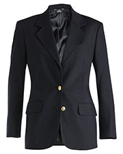 Edwards 6830 Women Hopsack Single Breasted Blazer at GotApparel