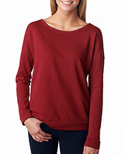 Next Level 6931 Women The Terry Long-Sleeve Scoop at GotApparel
