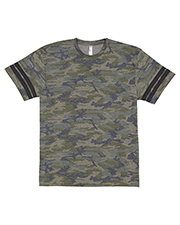 LAT 6937 Men 4.5 oz Football T-Shirt at GotApparel