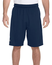Russell Athletic 6B4DPM Men Dri-Power Colorblock Short at GotApparel