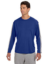 Russell Athletic 6B5DPM Men LongSleeve Performance T-Shirt at GotApparel