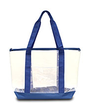 Liberty Bags 7009 Large Clear Tote at GotApparel