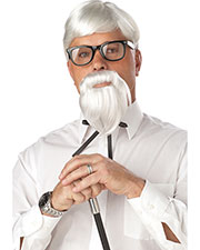 California Costumes 70106  THE COLONEL WIG, BEARD & MOUSTACHE at GotApparel