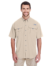 Columbia 7047 Men Bahama™ II Short-Sleeve Shirt at GotApparel