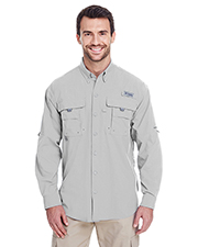 Columbia 7048 Men Bahama™ II Long-Sleeve Shirt at GotApparel