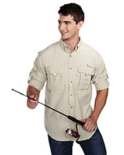 TM Performance 705 Men's Marlin Nylon Long-Sleeve Shirt at GotApparel
