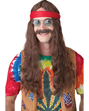 California Costumes 70666  HIPPIE MAN WIG & MOUSTACHE at GotApparel