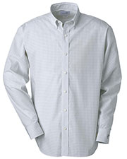 Ashworth 7095C Men Ez-Tech Check Pattern Woven at GotApparel