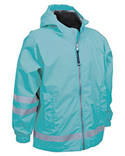 Charles River Apparel 7099 Toddlers New Englander Rain Jacket at GotApparel