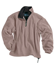 Tri-Mountain 7100 Men Escape Micro Fleece 1/4 Zip Pullover at GotApparel