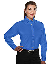 Tri-Mountain 712 Women Consultant Easy Care Long-Sleeve Twill Shirt at GotApparel