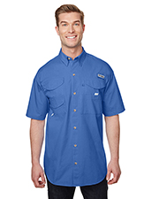 Custom Embroidered Columbia 7130 Men 3.8 oz Bonehead Short-Sleeve Shirt at GotApparel