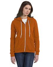 Anvil 71600L Women Full Zip Hooded Fleece at GotApparel