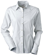 Ashworth 7162C Women Ez-Tech Check Pattern Woven at GotApparel