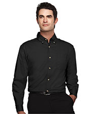 Tri-Mountain 720 Men Ambassador Easy Care Long-Sleeve Twill Shirt at GotApparel