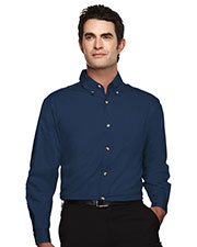 Tri-Mountain 720 Men Ambassador Easy Care Long Sleeve Twill Shirt at GotApparel