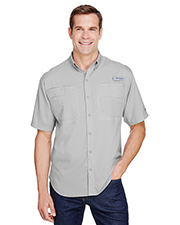 Custom Embroidered Columbia 7266 Men 2.4 oz Tamiami II Short-Sleeve Shirt at GotApparel