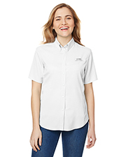 Columbia 7277 Women Ladies' Tamiami™ II Short-Sleeve Shirt at GotApparel