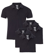 Gildan G728B Boys Dryblend 6.3 Oz. Double Pique Sports Shirt 5-Pack at GotApparel