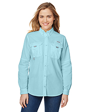 Columbia 7314 Women Ladies' Bahama™ Long-Sleeve Shirt at GotApparel