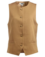 Edwards 7392 Women Bistro Sleeveless Polyester Vest at GotApparel