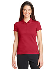 Nike 746100 Ladies 4.7 oz Dri-FIT Solid Icon Pique Modern Fit Polo at GotApparel