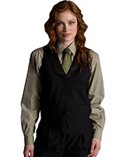 Edwards 7495 Women Black Satin Shawl Vest at GotApparel