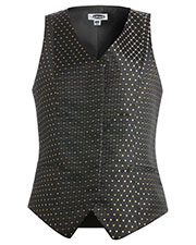 Edwards 7497 Women Diamond And Dots Brocade Vest at GotApparel