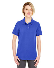 UltraClub 7500L Women's Classic Platinum Polo at GotApparel