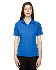 Extreme 75107 Women's Eperformance™ Velocity Snag Protection Colorblock Polo with Piping at GotApparel
