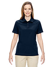 North End 75120 Women's Excursion Crosscheck Woven Polo at GotApparel
