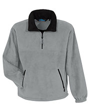 Tri-Mountain 7550 Men Viking Panda Fleece 1/4-Zip Pullover With Trim at GotApparel