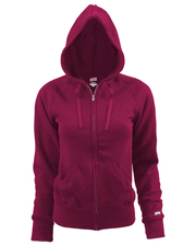 Soffe 7577V  Jr Rugby Zip Hood Cttnply at GotApparel