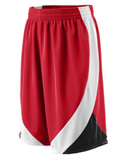 Augusta 757 Men Wicking Duo Knit Game Shorts With Drawcord at GotApparel