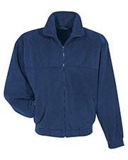 Tri-Mountain 7600 Men Tundra Panda Fleece Jacket at GotApparel