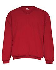 Badger Sportswear 7618 Men V-Neck Windshirt at GotApparel