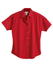 Tri-Mountain 761 Women Apprentice Stain-Resistant Twill Shirt at GotApparel