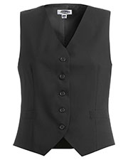 Edwards 7680 Women High Button Wool Blend Dress Vest at GotApparel